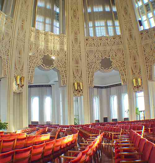 Bahá'� House of Worship in Wilmette Illinois